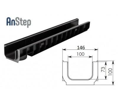 Лоток водоотводный Standart ЛВ-10.14,5.10 - пластиковый