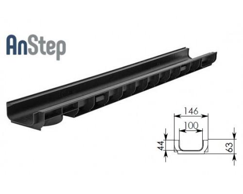 Лоток водоотводный Standart ЛВ-10.14,5.06 - пластиковый