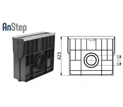 Пескоуловитель Standart Plus ПУ-10.16.42 - пластиковый (усиленный)