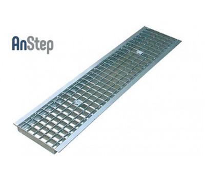 Решетка водоприемная РВ -20.23,6.100-ячеистая стальная оцинкованная кл. В.