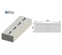 Решетка бетонная лотковая 150 А15-Е600