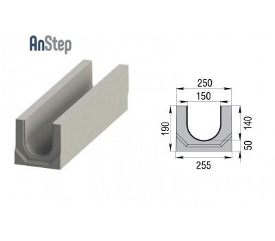 Лоток водоотводный бетонный ЛВК BМ Plus 150 № 0/0