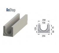 Лоток водоотводный бетонный ЛВК BМ Plus 150 № 0