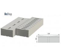Решетка бетонная лотковая 200 А15-Е600