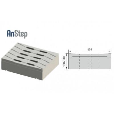 Решетка бетонная лотковая 400 А15-Е600
