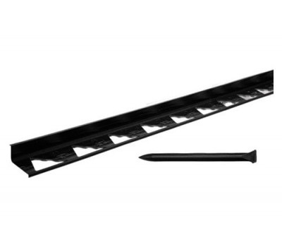 Бордюр пластиковый черный L3000 и L1000
