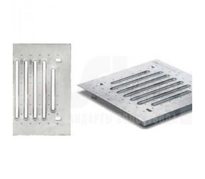 Решётка стальная штампованная оцинкованная ДК Plus 30/30