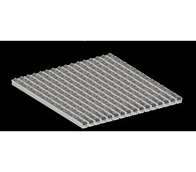 Грязезащитные алюминиевые решетки Стрит ворс