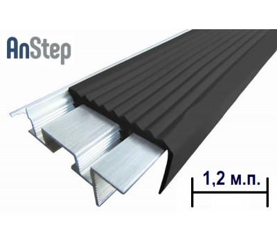 """Алюминиевый закладной профиль """"SafeStep, 1,2 м"""