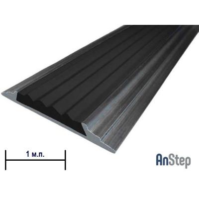 Алюминиевая полоса с резиновой вставкой, 1 м