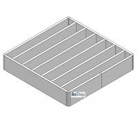 Решетка щелевая/лестничная из нержавеющей стали 150