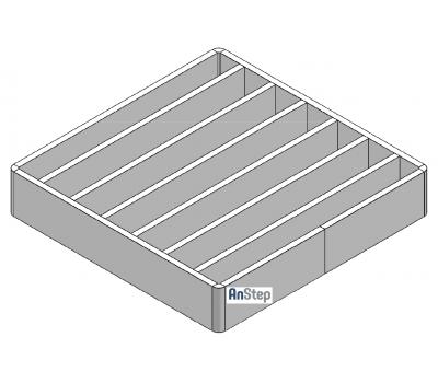 Решетка щелевая/лестничная из нержавеющей стали 400