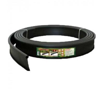 Бордюр Country Б-10000.2.11 — пластиковый черный L10000