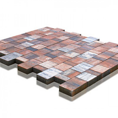 Тротуарная плитка Старый Город Ландхаус Color Mix Тип 4 «Койот»