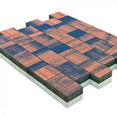 Тротуарная плитка Старый Город Ландхаус Color Mix Тип 5 «Техас»