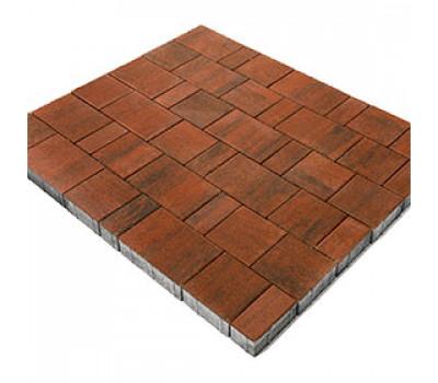 Тротуарная плитка Старый Город Ландхаус Color Mix Тип 9 «Закат»