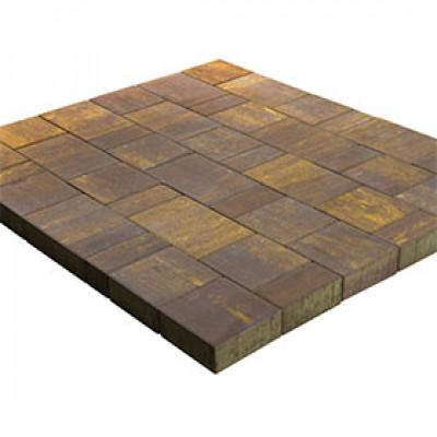 Тротуарная плитка Старый Город Ландхаус Color Mix Тип 18 «Мускат»