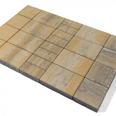 Тротуарная плитка Мозаика Color Mix «Песчаник»