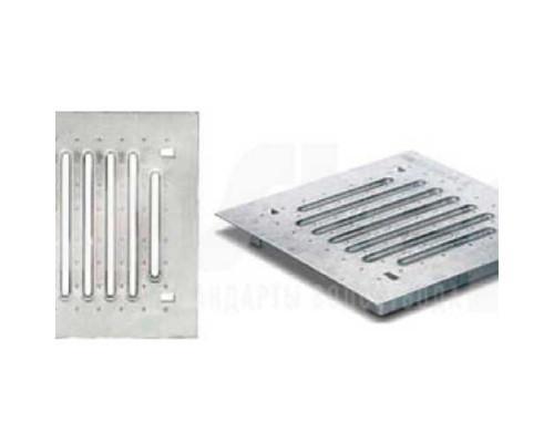 Решётка стальная штампованная оцинкованная ДК Light 30/30