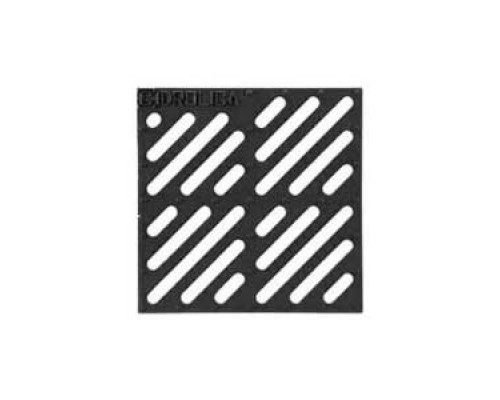 Решетка водоприемная чугунная «Щелевая» для дождеприемника 300х300