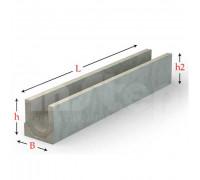 Лоток водоотводный серии Plus с внутренним уклоном 500 мм