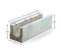 Лоток водоотводный серии Sir с внутренним уклоном 500 мм